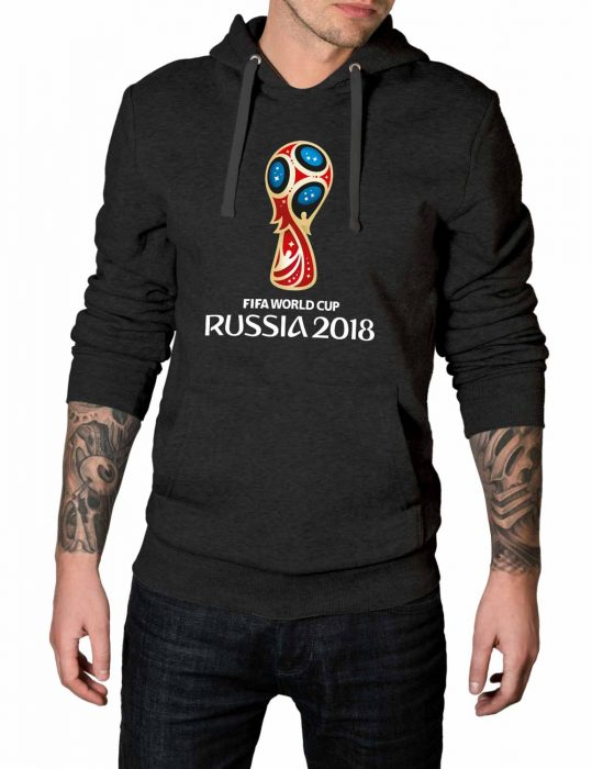 World Cup Fifa grey Hoodie 2018
