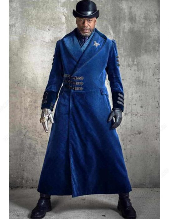 nathaniel moon blue trench coat
