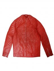 Superman Red leather Jacket