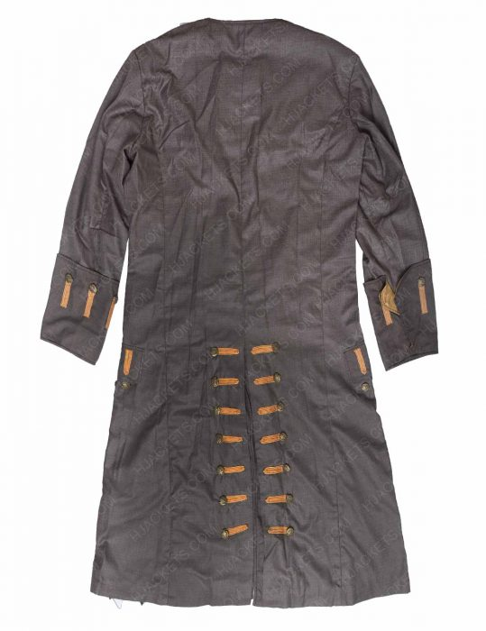 Jack Sparrow leather Coat
