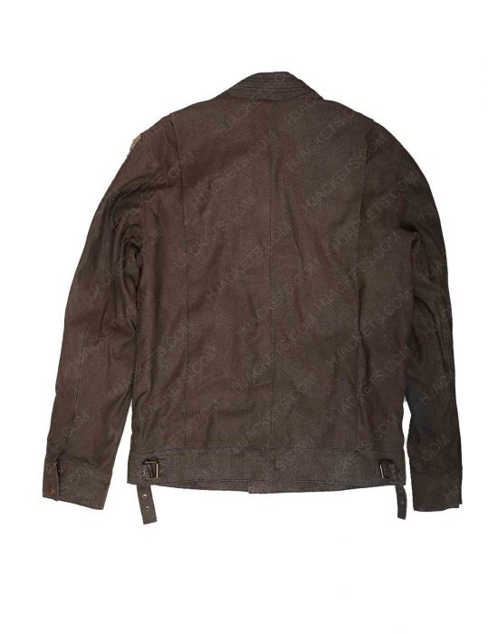 womens brown leather jacket