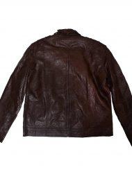 slim fit brown jacket