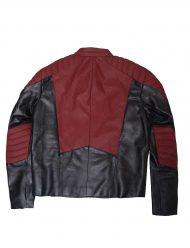 Maroon and Black Jacket