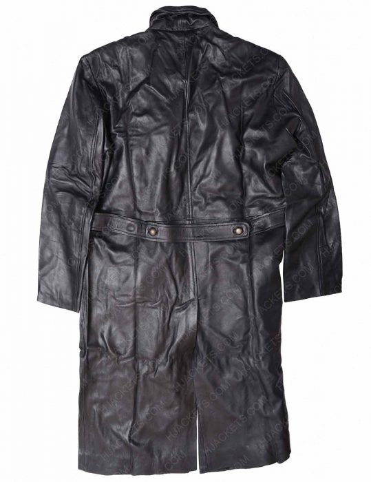 black trench coat for mens