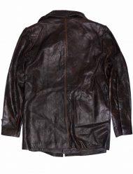 Distressed brown jacket
