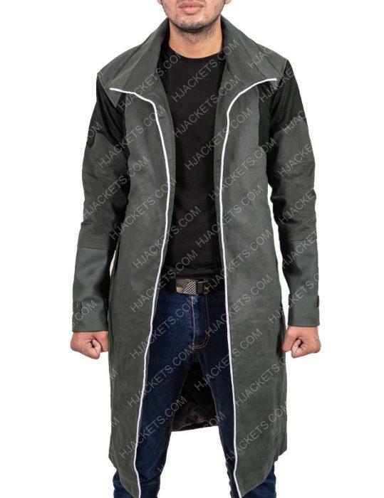 Detroit Become Human Markus Mid Length Leather Coat