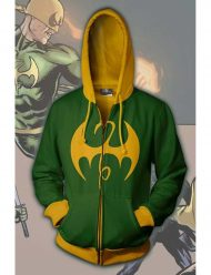 Iron Fist Zip Up Hoodie