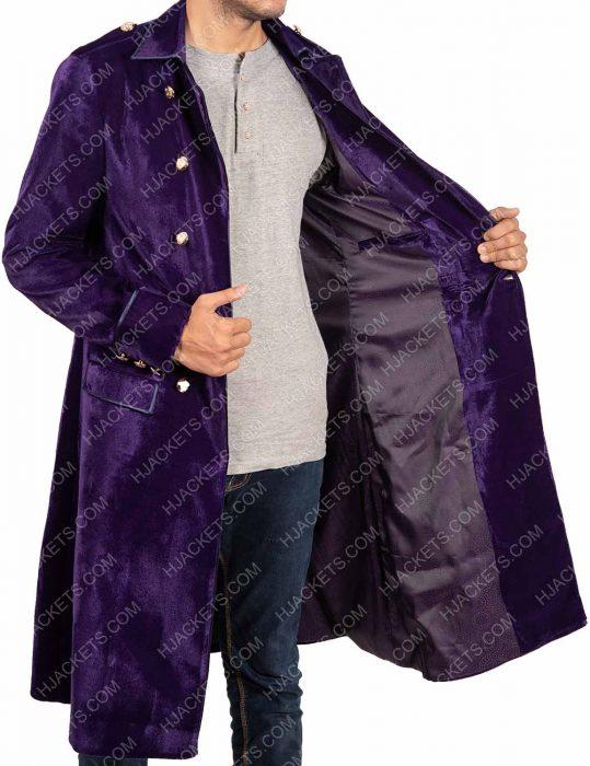 Into The Badlands Lewis Tan Purple Coat