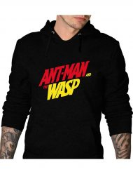 ant man and the wasp black hoodie
