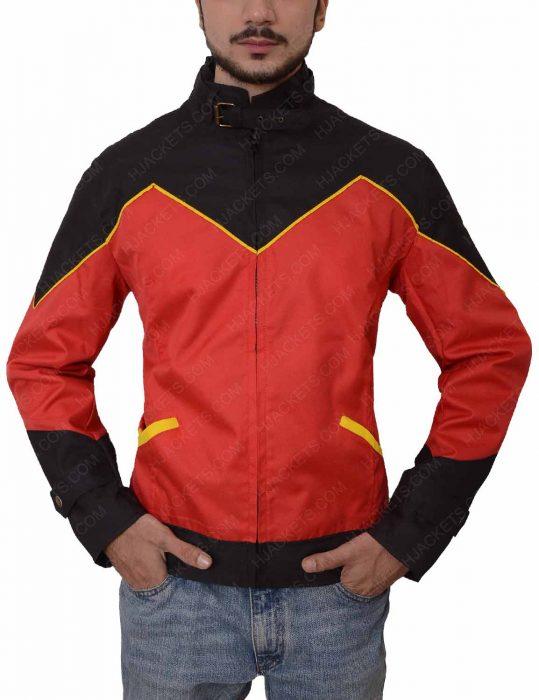 batman tim drake robin leather jacket