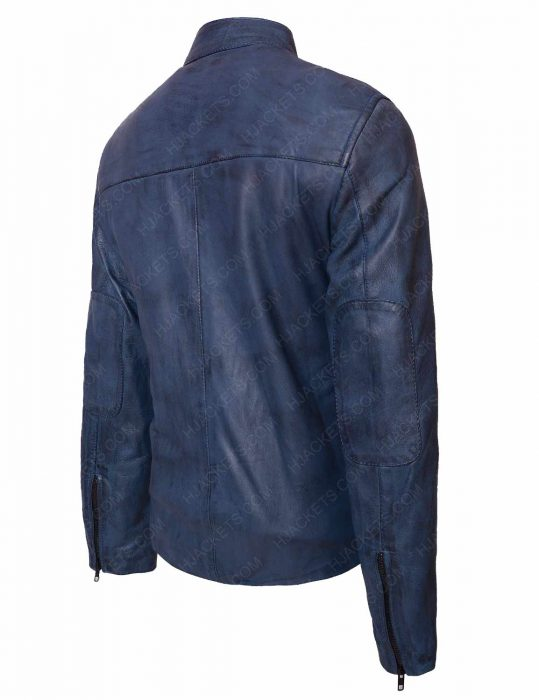 bon jovi waxed leather jacket