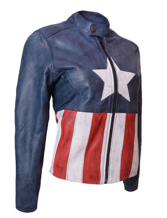 captain america bon jovi rock band jacket