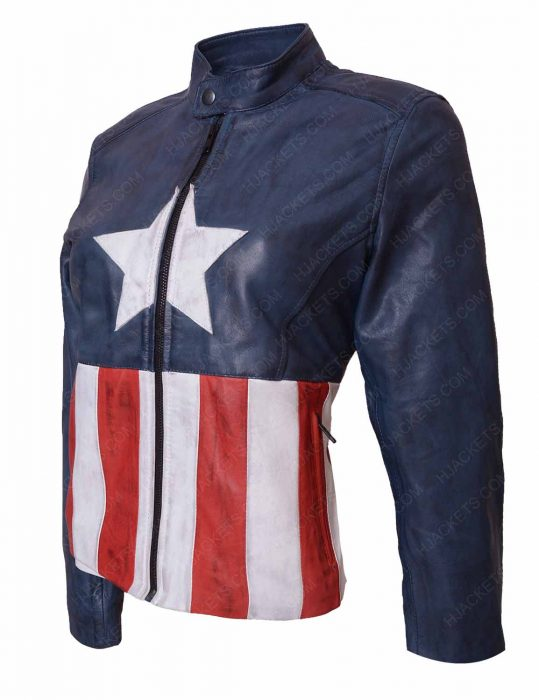 captain america rock band jacket