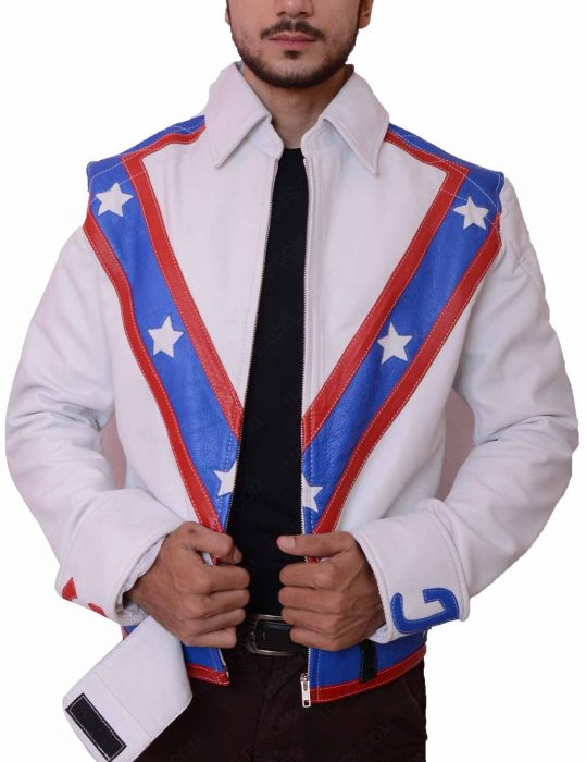 evel knievel biker leather jacket