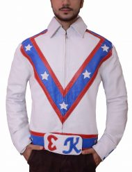 evel knievel motorcycle leather jacket