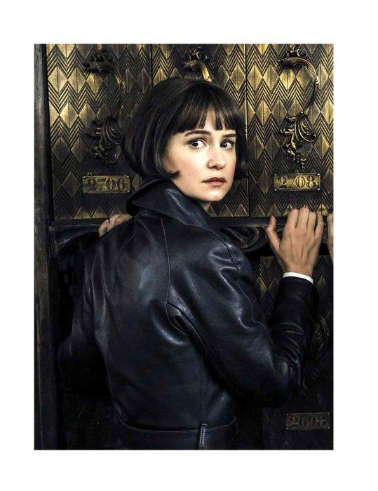 tina goldstein black coat