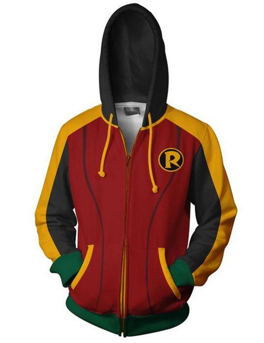 robin damian hoodie