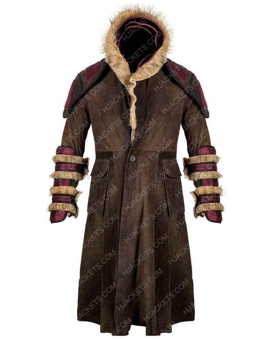 into the badlands leather coat