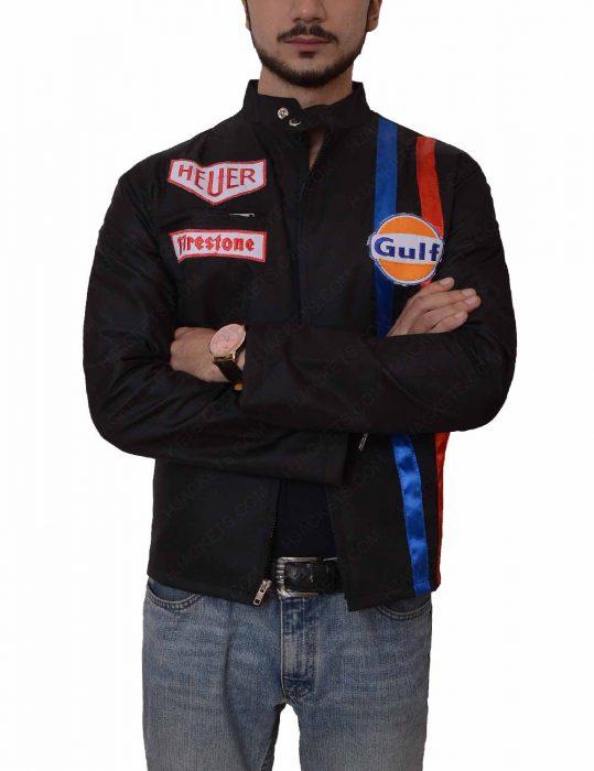 le mans steve mcqueen black jacket