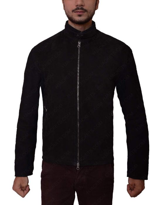 supernatural season 11 dean winchester black jacket
