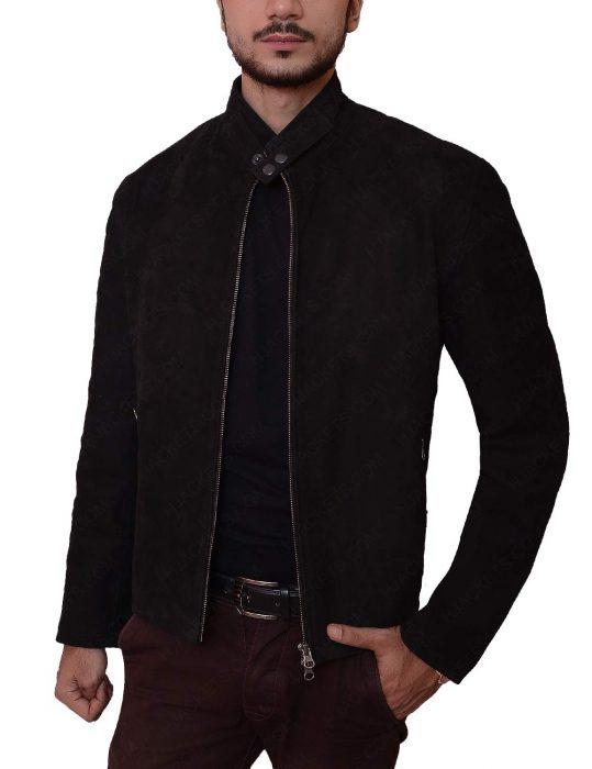 supernatural season 11 jensen ackles black jacket