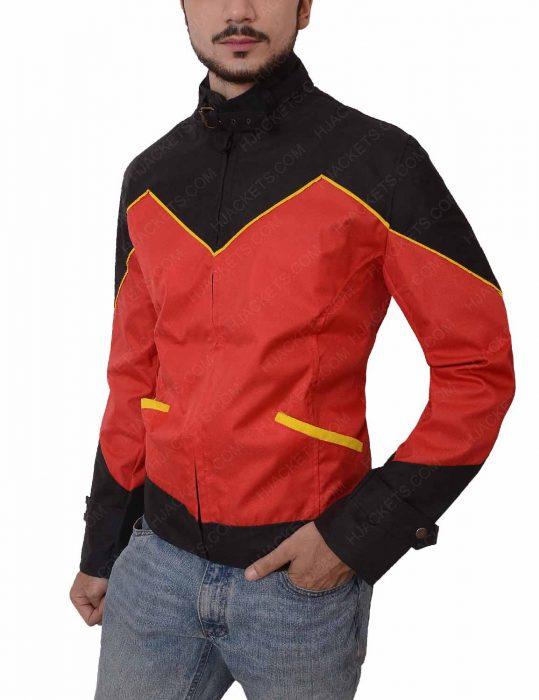 tim drake leather red robin jacket