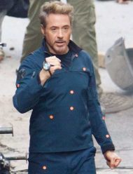 tony stark avengers 4 robert downey cotton jacket