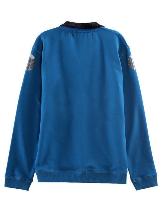 tony stark endgame cotton blue jacket