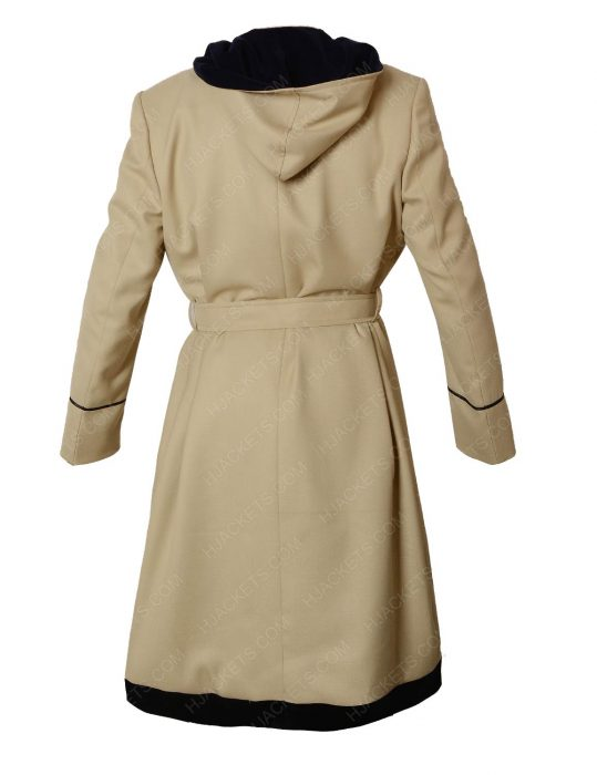 13th doctor who white hooded coat