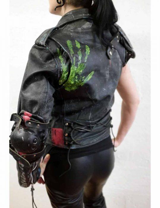 Ladies Apocalypse leather Jacket