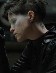 Lisbeth Salander black Hooded Jacket