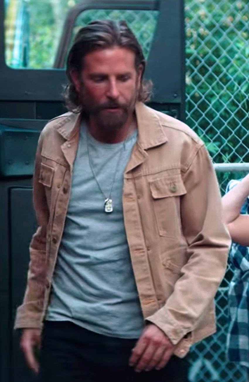 A Star Is Born Jackson Maine Jacket by Bradley Cooper