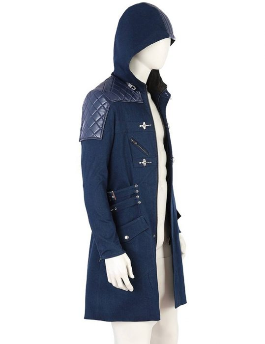 Nero Devil May Cry 5 Blue Trench Coat