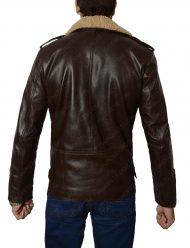 harry style fur collar jakcet