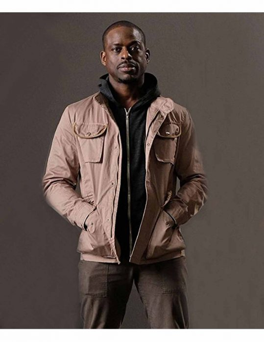 The Predator Sterling K Brown Cotton Jacket