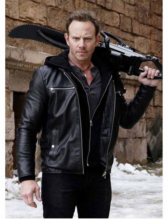 Fin Shepard leather Jacket