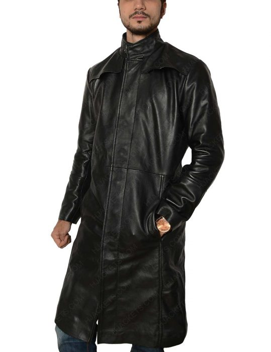 matrix keanu reeves leather coat