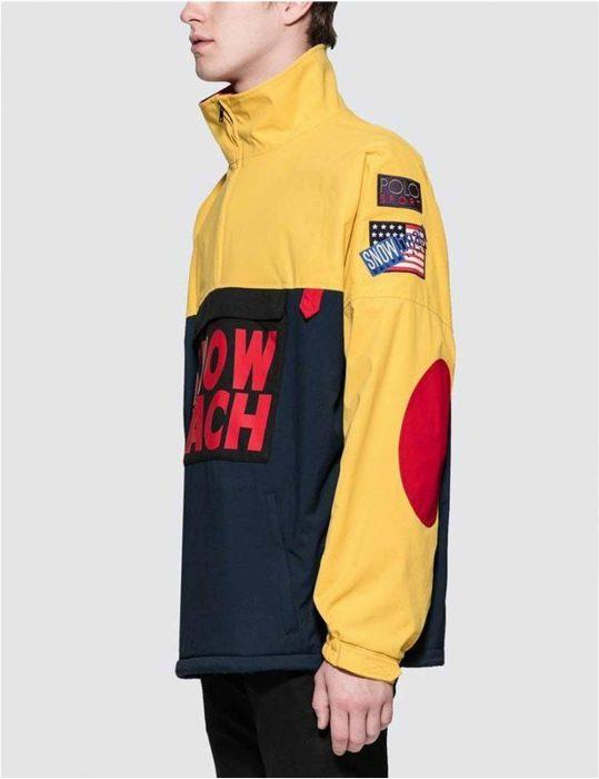 snow beach cotton jacket