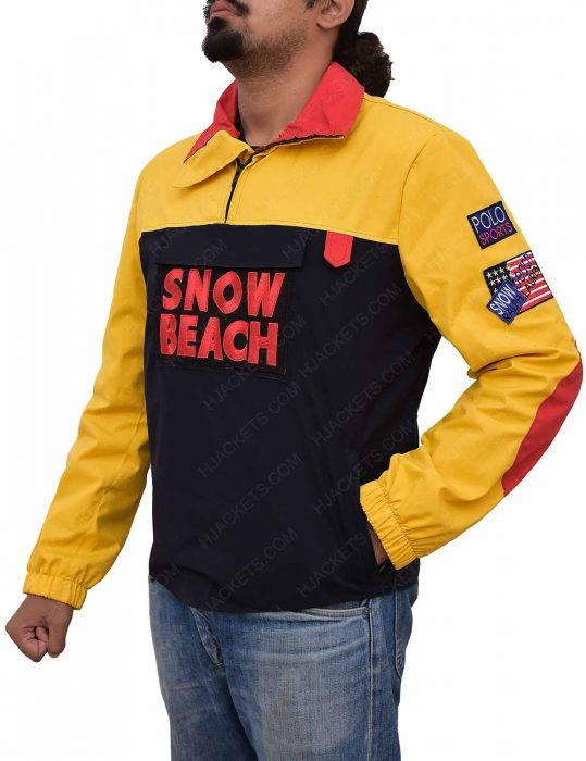 snow-beach-yellow-jacket