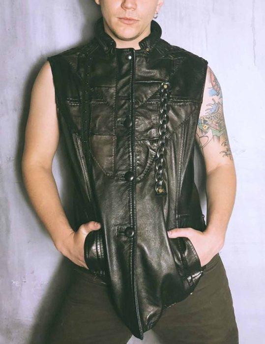 Dragoncon Motorcycle leather Vest