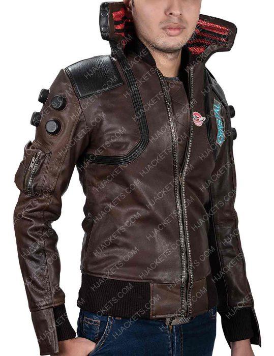 Cyberpunk 2077 Male Character Cosplay Jacket