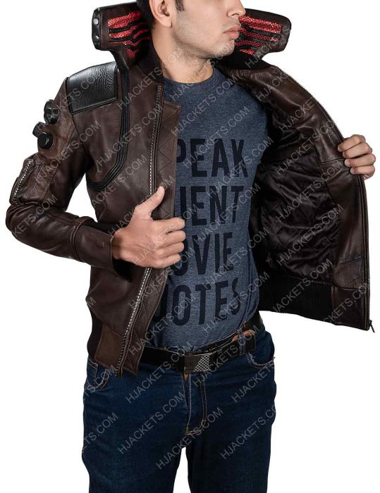 Cyberpunk 2077 Male Character Jacket