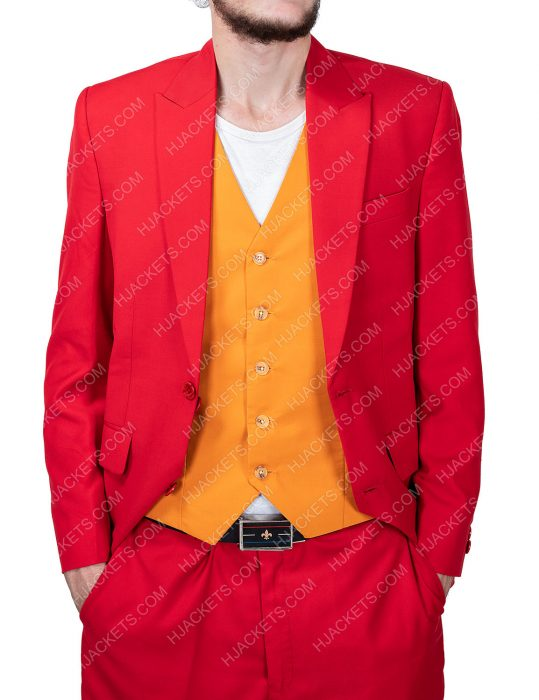 Joker Red Suit