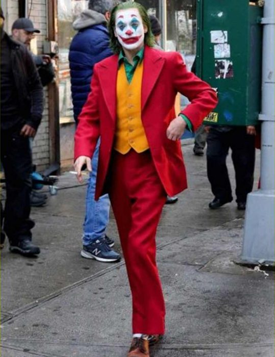 Joker Red Wool Coat