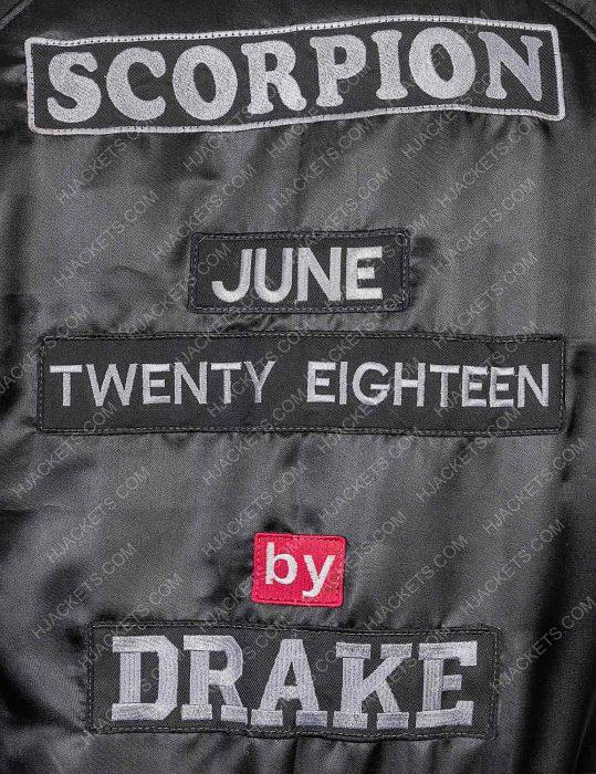 Scorpion Drake Bomber Black Jacket