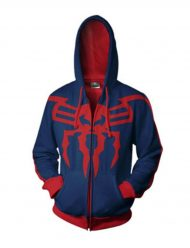 Spiderman Red and Blue Hoodie