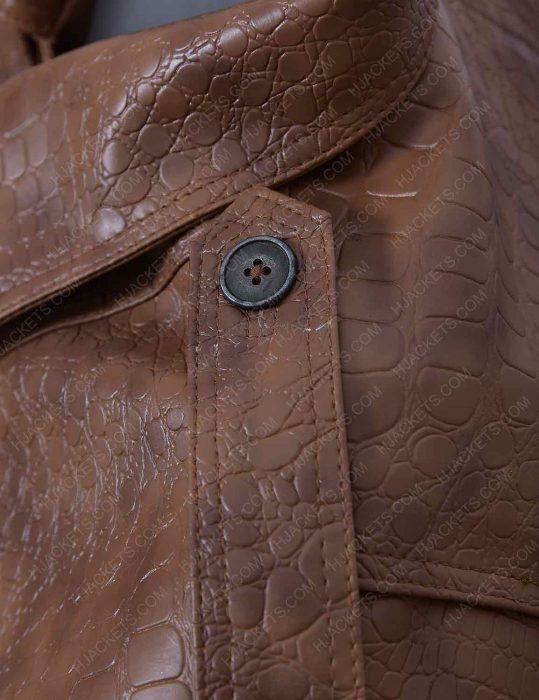alligator-brown-leather-jacket-for-men