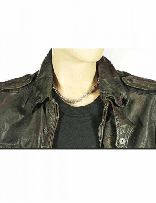 Warrick Grier Caleb leather jacket