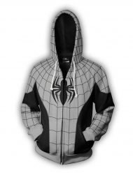 spiderman-grey-zip-pullover-hoodie