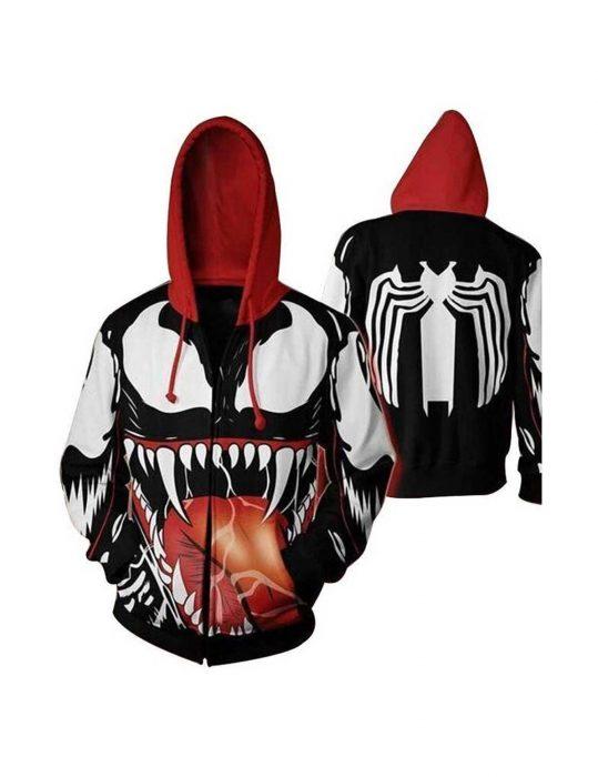 venom pullover hoodie